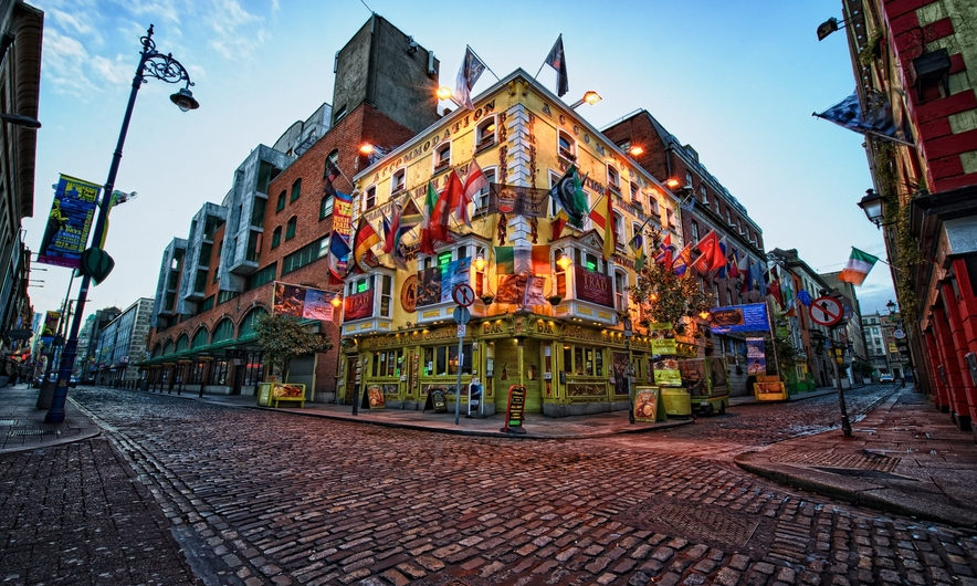 Un voyage à Dublin