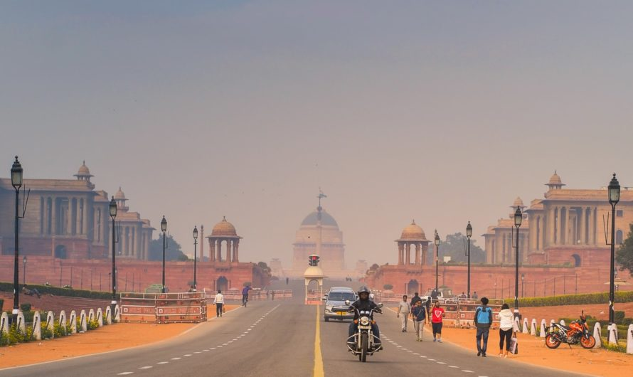 Un voyage à New Delhi en Inde